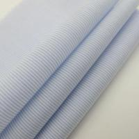 Quality 100% Cotton Stripe Light Weight Shirt Fabric for sale