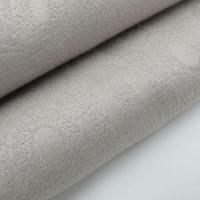 Quality jacquard silk fabric online 100% Cotton Jacquard Fabric Solid Color for sale