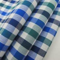 Buy cheap 100% Cotton Fabric Warp And Weft Check Design from wholesalers