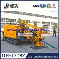 China City Construction Machinery DFHD-40 HDD Horizontal Drilling Rig 40Tons Feeding Capacity wholesale