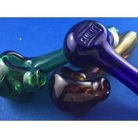 China Shine Glassworks Colored Spoon Pipe wholesale
