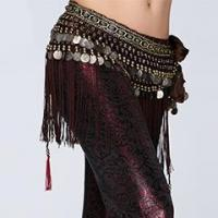 China High Quality Tribal Performance Belly Dance Hip Scarf,Egypt Belly Dance Belt on sale