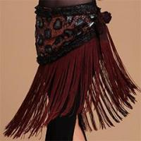 China Professional Performance Tribal Belly Dance Hip Scarf,Belly Dance Tassel Belt on sale