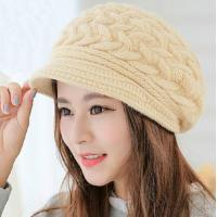 China winter warm rabbit hair elegant ladies caps and vintage women hats wholesale on sale
