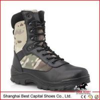 China 2015 new camo tactical shoes for men/wear-resistand and non-slip working boots on sale