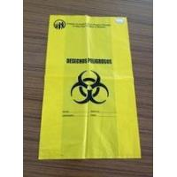 China medical waste bag 2016 HDPE new medical waste bags plastic for hospital wholesale