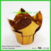 China Paper Tulip Cups Flower Cupcakes Wrappers wholesale