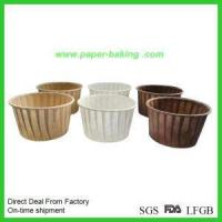 China Paper Souffle Nut Baking Cup wholesale