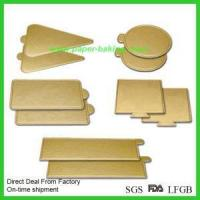 China Cheap Gold Cardboard Cake Rounds Cake Boards wholesale