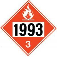 China Agricultural Supply DOT Placard #V1993 for Diesel Fuel, Fuel Oil, N.O.S. wholesale