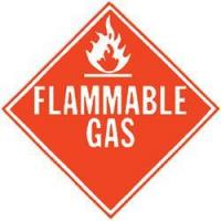 China Agricultural Supply DOT Placard for Flammable Gas wholesale