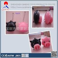 China Foam Clay-putty-slime  Pig Nose with ball chain wholesale
