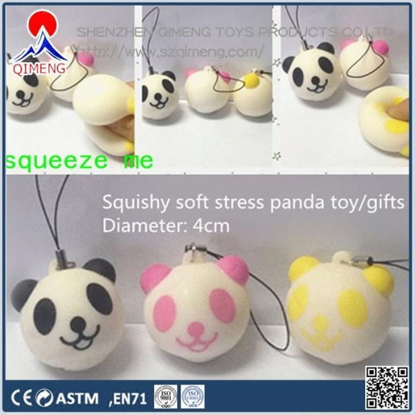 Quality Foam Clay-putty-slime  Stress Panda with strap for sale
