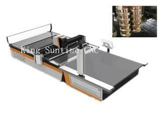 China Stainless Steel Cutting Head Automatic Cloth Cutting Machine 16 - 25kw Power