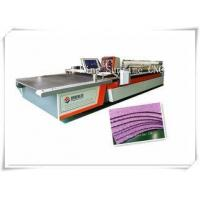 Buy cheap Intelligent Cutting Blade Automatic Cloth Cutting Machine For Suitcase / House Hooding from wholesalers
