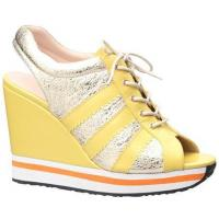 China Yellow-gold classic athletic style all-match shoes WOMEN'S SHOES on sale
