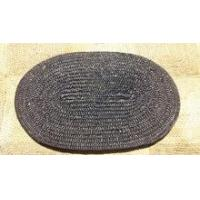 China oval straw table placemat stock for 1000pcs wholesale