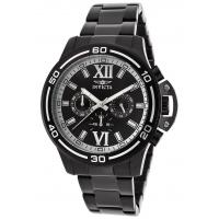 China Men's Watches Men's Specialty Chronograph Black IP Steel Black and Silver-Tone Dial on sale