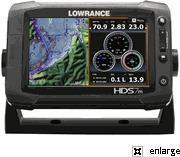 China Lowrance HDS-7m Gen2 Touch Insight GPS Chartplotter wholesale