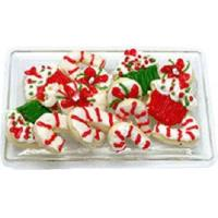 China Christmas Sweets on Clear Tray BDK1161 wholesale