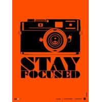 Buy cheap Motivational Stay Focused Poster from wholesalers