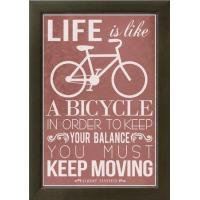 China Motivational Life Is Like a Bicycle wholesale