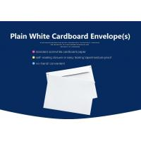 Buy cheap Small Size Blank Document Paper Cardboard Envelope With Self Sealing Tape from wholesalers