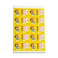 China Custom Made Caution Label/Warning Adhesive Label Sticker wholesale