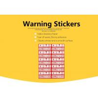Buy cheap Custom FRAGILE And Handle With Care Shipping Self-Adhesive stickers from wholesalers