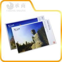 China customized paper wonderful view postcard at factory price wholesale