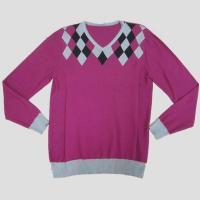 China Mens fashion sweater with double neck Y213 on sale