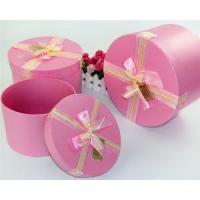 China Custom Printing Cylinder Shape Cardboard Round Clear /Silver/Gold/White/Black/Red Gift Boxes wholesale