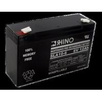 6 Volt 12.0 Ah Battery - Rhino SLA10-6 Sealed Lead Acid Rechargeable