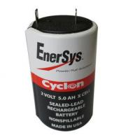 China 0800-0004 Battery by Enersys Cyclon 2 Volt 5.0 AH Sealed Rechargeable X Cell wholesale