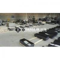China Absolute black china black granite monuments for american usa styles market wholesale