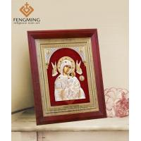 China religious photo frames online Mother Mary and Child Jesus Orthodox Icon wholesale