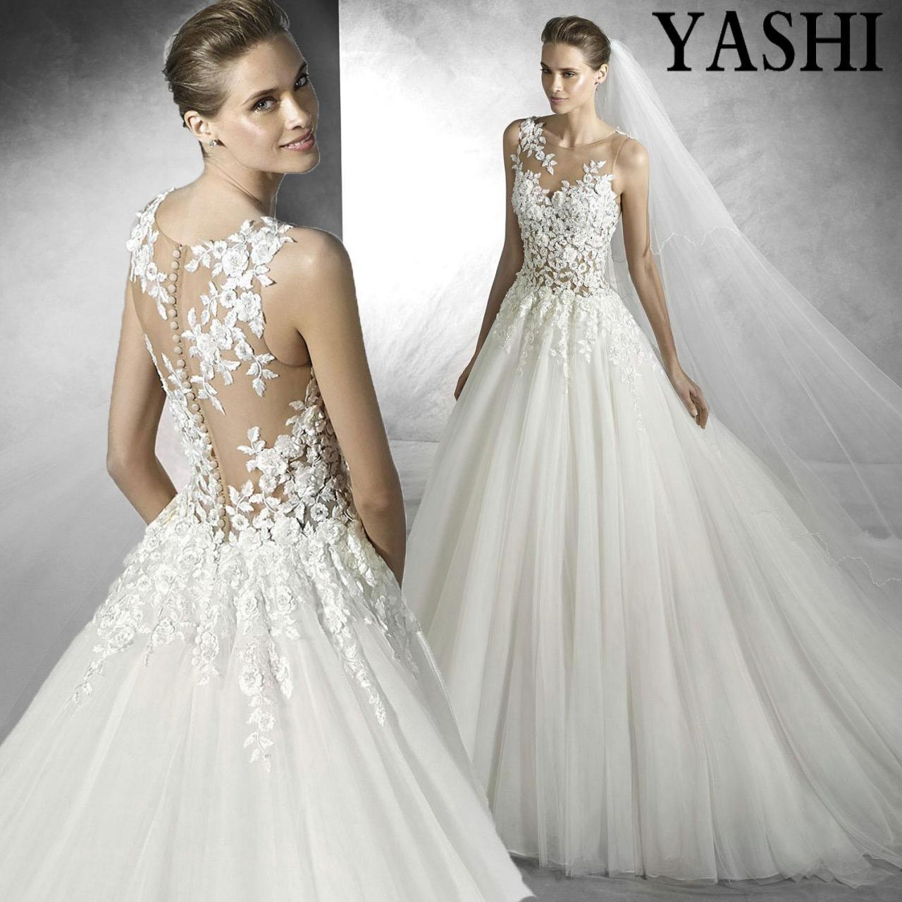 China Princess See Through Strapless Floor-Length Wedding Dress wholesale