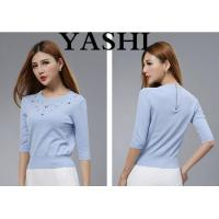 China High-End5 Colors Women Pullover Sweater Knitted Clothing for Wholesale wholesale