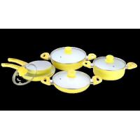 China 9Pcs Aluminum Ceramic Cookware set BPS109 wholesale