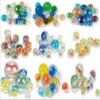 China Hot sale transparent cat eye glass marbles wholesale