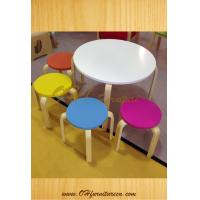 China Solid Wood Bentwood Childrens Dining Chair Dining Room Furniture wholesale