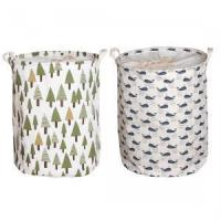 China Household Essentials Hanging Cotton Canvas Laundry Hamper by Household Essential wholesale