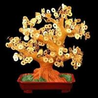China Stunning Artificial Chinese Coin Money Tree S wholesale