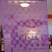China String Curtain Room Divider Partition Purple wholesale