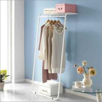 China 1 Tier Wall Stand Garment Rack on sale
