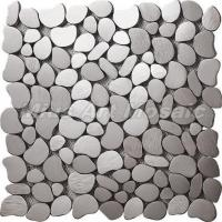 China Pebble shaped stainless steel mosaic tile C5A152 on sale