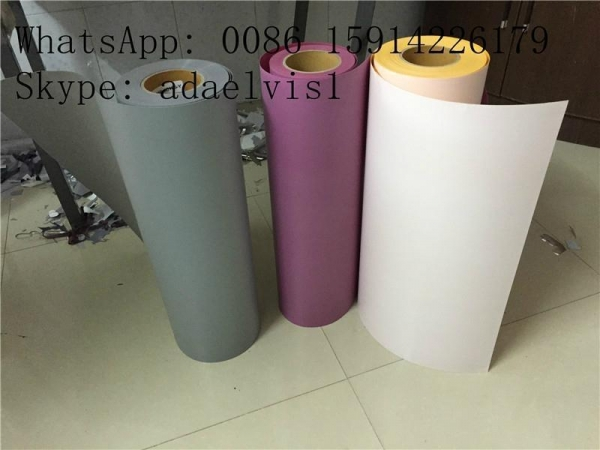 China JY White PVC Heat Transfer Material Transfer Film for Press-on Letters