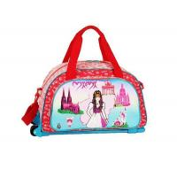 China Personalized Girls Travel Rolling Luggage Bag for Kids on sale