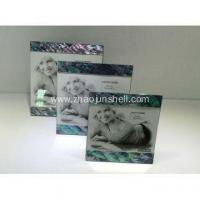 China Luxury Gift Paua Shell Mirror Frame Picture Frames on sale