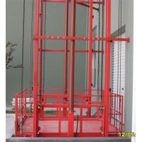 China Single chain type lifting elevator guide rail on sale